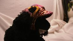 sporty hat with chin strap by FlyingPigsInc on Etsy