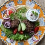 Spring is in the air and this Alberta Burger is inspired by flavours of the Middle East.