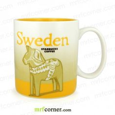 SM094 16oz Starbucks Sweden Global Icon Series City Mug
