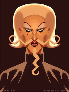 Max by Chad Sell, RPDR 7, art.