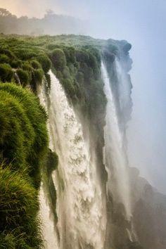 Scary though !   Iguazu Falls. South America