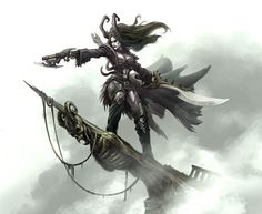 Epic Skarre Queen of the Pirates Cryx