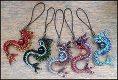 tutorial on how to make these dragons: http://rrkra.deviantart.com/art/S-Dragon-Tutorial-263218162