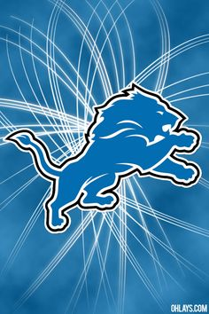 Detroit Lions New Logo | Detroit Lions iPhone Wallpaper | #5610 | ohLays...:-)  KSS