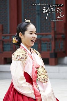 han ga in pretty face Korean Hanbok, Korean Dress, Korean Outfits, Korean Traditional Dress, Traditional Fashion, Traditional Dresses, Korean Wedding, Ga In, Cute Korean