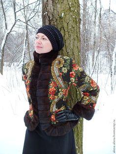 """Купить Зимнее пальто """"Морозные кружева"""". - цветочный, дизайнерская одежда, зимняя одежда, морозные узоры"""