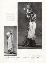 Véra Boréa (Couture) 1933 Vera Borea herself wearing her own creations, Boris Lipnitzki