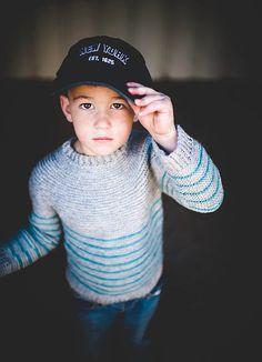 Boys Striped Pullover Sweater Crochet Pattern in by BallHanknSkein, $4.50