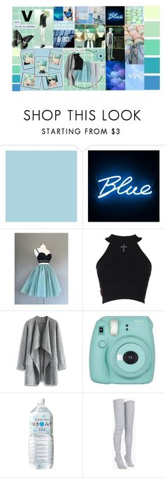 """""""Mystic messenger V"""" by silentdoll ❤ liked on Polyvore featuring Seed Design, Seletti, Versace, Chicwish, Fujifilm and Balmain"""