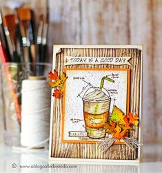 Tim Holtz Distress Ink Color POP: Ground Espresso!