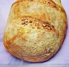 Dinkel Haferflocken Brot