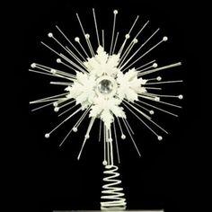 White Metal and Diamante Star