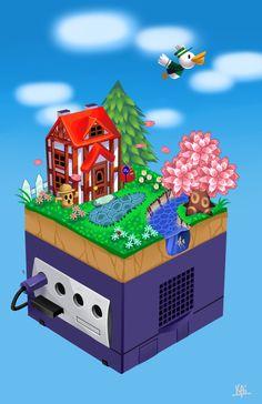 Nintendo Poster By: Kai Texel  #nintendo