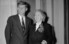 John F. Kennedy with Edith Nourse Rogers 15 January