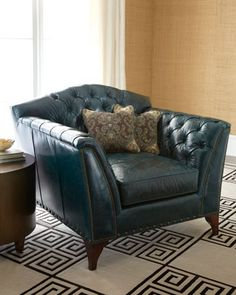 """Montana"" Chair by Old Hickory Tannery at Neiman Marcus."