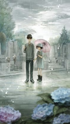 With you in the rain