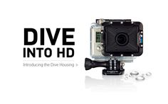 The Dive Housing's flat glass lens allows for maximum photo and video sharpness underwater in all resolutions, free of vignetting. Waterproof to 197ft / 60m, the dive housing is ideal for diving, snorkeling and any underwater filming scenario. They should have included this.