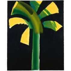 Night Palm by Howard Hodgkin Howard Hodgkin, Original Artwork, Plant Leaves, Abstract, Night, Palm, Prints, Painting, Image