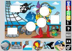 Piraten spellen | Digipuzzle.net