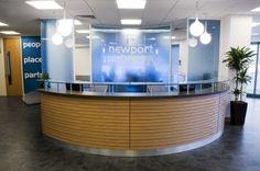 entrance desk design ideas | ... counter | Reception Desks, Reception Furniture, Reception Design