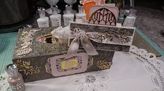It is with great pride that I announce working with Tonic USA. I will be creating future projects using the wonderful products from Tonic. This is a Mixed Me. Hold On, Mixed Media, Decorative Boxes, Gift Wrapping, Youtube Youtube, Video Tutorials, Projects, Channel, Crafts