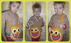 """Купить Сумочка """"Совушка"""" - разноцветный, сумка сова, сова, сумочка, детская сумочка, шерсть, полушерсть"""