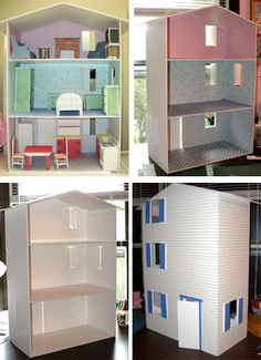 "Pattern for doll house for 8"" Dolls.$9.90"