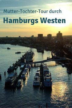 Der Westen von Hamburg hat alles: Strandleben, große Pötte, hanseatische Noblesse, norddeutsche Gemütlichkeit