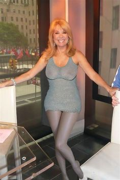 Lee kathie see gifford swimsuit through