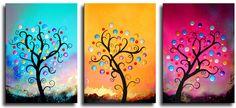 Schilderij Trilogy | Schilderijen kopen bij Kunst Voor Jou