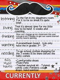 Fun writing idea!