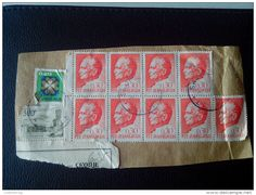 RARE JUGOSLAVIA 6*0.30/2*20 D PTT SKOPJE RECOMMENDET PACKAGE-LETTRE STAMP ON PAPER COVER USED SEAL - 1945-1992 Socialist Federal Republic Of Yugoslavia