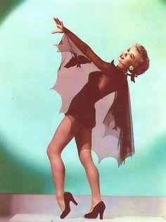 Vera Ellen as a bat girl.