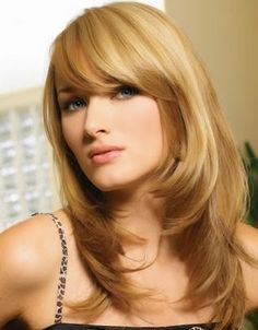 Corte de pelo mujer desflecado largo