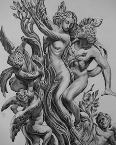by Jun Cha #art #picture #draw #gravure #illustration #sculpture