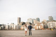 Carly & Dave: Downtown Seattle Engagement Session » Meredith McKee Photography: Seattle Wedding Photographer