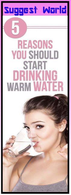 5 Reasons You Should Start Drinking Warm Water #health #WomensHealth #Skin #Diet #pain #benefits