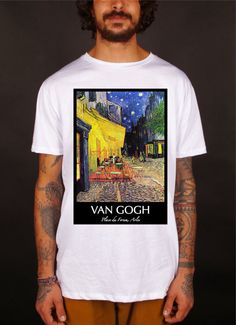 Van Gogh van gogh t-shirt t-shirts schilderijen door MATshirtitaly