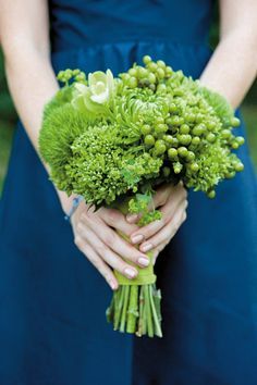 Vegetable Flower Bouquets (BridesMagazine.co.uk)