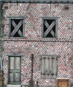 making buildings in foamboard