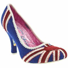 vegan union jack heels