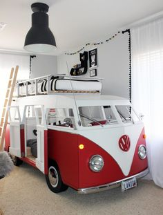 Project Nursery - VW Bus Bunk Bed - Project Nursery