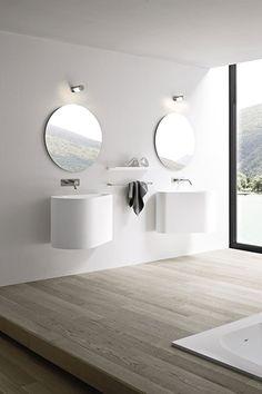 Hole sanitair en spiegels van Rexa Design