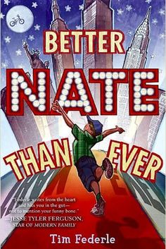 """An eighth - grader who dreams of performing in a Broadway musical concocts a plan to run away to New York and audition for the role of Elliot in the musical version of """"E.T."""" RL 5.9- http://libraries.vermont.gov/sites/libraries"""