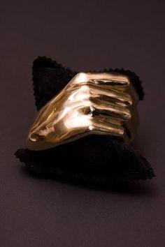 Delfina Delettrez Fist Bracelet