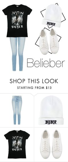 """Belieber"" by mariaju25 ❤ liked on Polyvore featuring Justin Bieber"