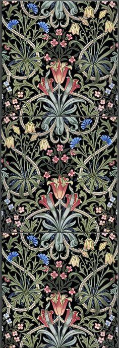New ideas art nouveau tiles william morris designer wallpaper William Morris Patterns, William Morris Art, Art Nouveau Pattern, Art Nouveau Tiles, Of Wallpaper, Designer Wallpaper, Original Wallpaper, Art And Craft Design, Design Art