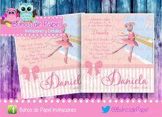 Invitacion Digital Daniela Bailarina