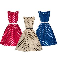 Lindy Bop 'Audrey' Classy Vintage Style 1950's Rockabilly Swing Evening Dress Was: $69.99 Now: $53.99