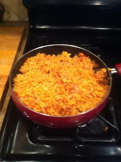 The Cookin' Chicks: Authenthic Mexican Rice- Spanish Rice- So easy !!